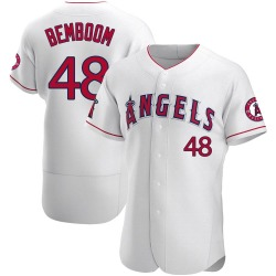 Anthony Bemboom Los Angeles Angels Men's Authentic Jersey - White